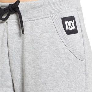 Ivy Park by Beyoncé crop wide leg joggers